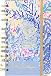 "$22 » Lilly Pulitzer Medium 2020 12-Month Annual Hardcover Planner with Daily, Weekly, Monthly Spreads for Jan. 2020 – Dec. 2020, 8.25"" x 5"", Kaleidoscope Coral"