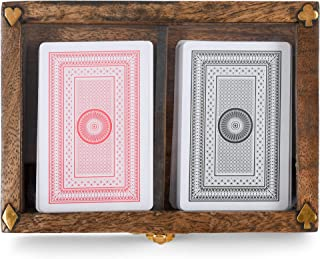 47th & Main Vintage Desk Décor, 6.29 x 4.52-inches, Playing Card Box