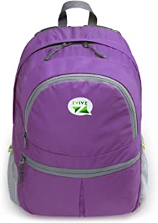 Yes4all ZaiaZ Ultra Lightweight Travel Daypack Foldable Backpack - Purple - ²3KA7Z