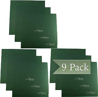 Lot de 3 feuilles en silicone anti-adhésives pour déshydrateur Sedona Combo Classic P9000 + P9150 Fruits Roll Up crackers ...