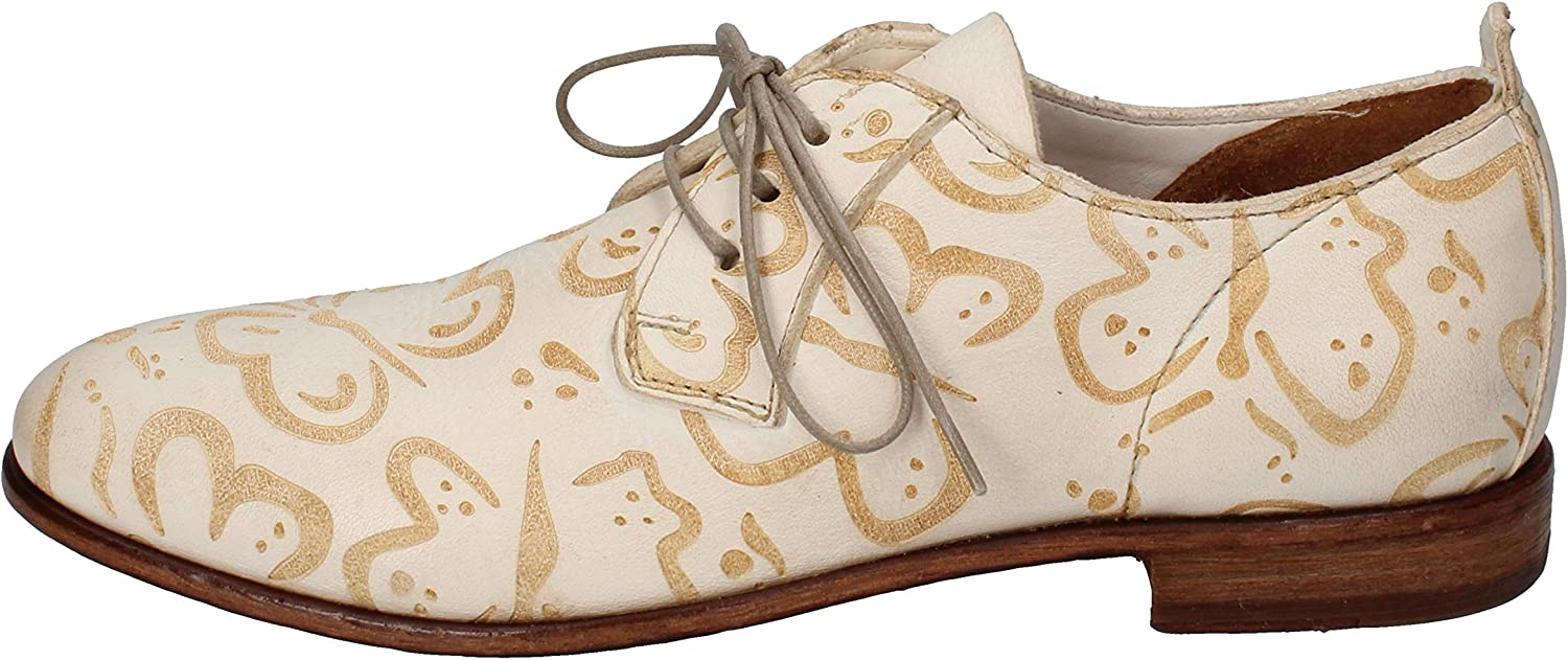 MOMA Oxfords-shoes Womens Leather White