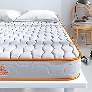Maxzzz enkel vårmadrass, bonnellspole 3 FT madrass i en låda, innervårmadrass med skum med hög täthet och 3D andningsbart ...