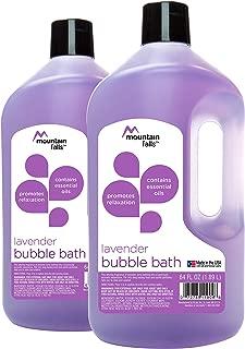 Mountain Falls Bubble Bath, Lavender, 64 fluid ounce (Pack of 2)