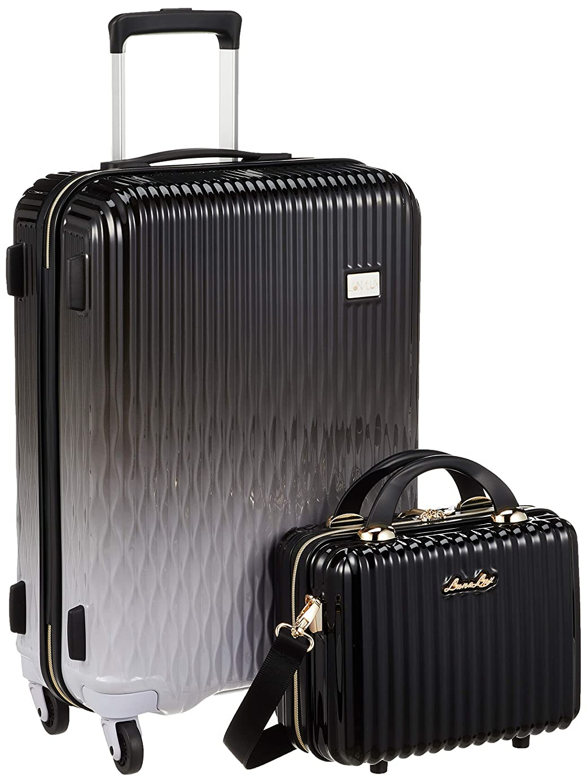 きょうだい適度に尊敬する[シフレ] ハードジッパースーツケース 中型 Mサイズ 1年保証付き 不可 保証付 43L 55 cm 3.4kg
