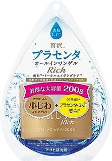【医薬部外品】素肌しずくリッチ トータルエイジングパックゲル 200g