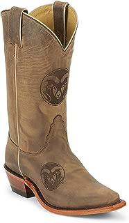Nocona LDCSU11 Womens Colorado State University Brown College Boots