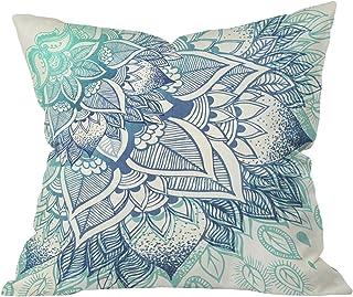 "Deny Designs Rosebudstudio Boho Fall Outdoor Throw Pillow, 16"" x 16"""