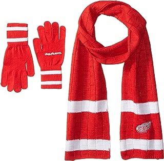 Littlearth NHL Unisex NHL Scarf & Gloves Gift Set