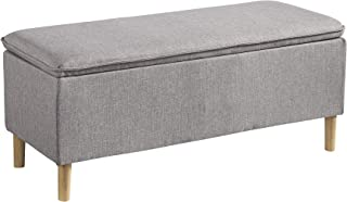 ashley furniture leather bench
