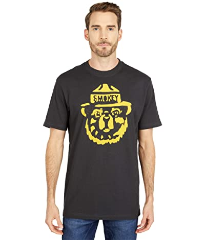 Filson Smokey Bear Short Sleeve T-Shirt (Faded Black) Men