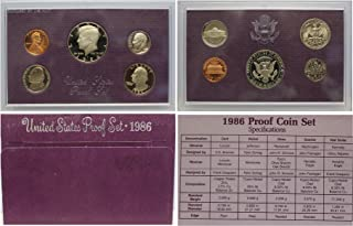 1986 S U.S. Proof Set in Original Government Packaging