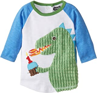 Mud Pie Baby Boys' Toddler Raglan T-Shirt