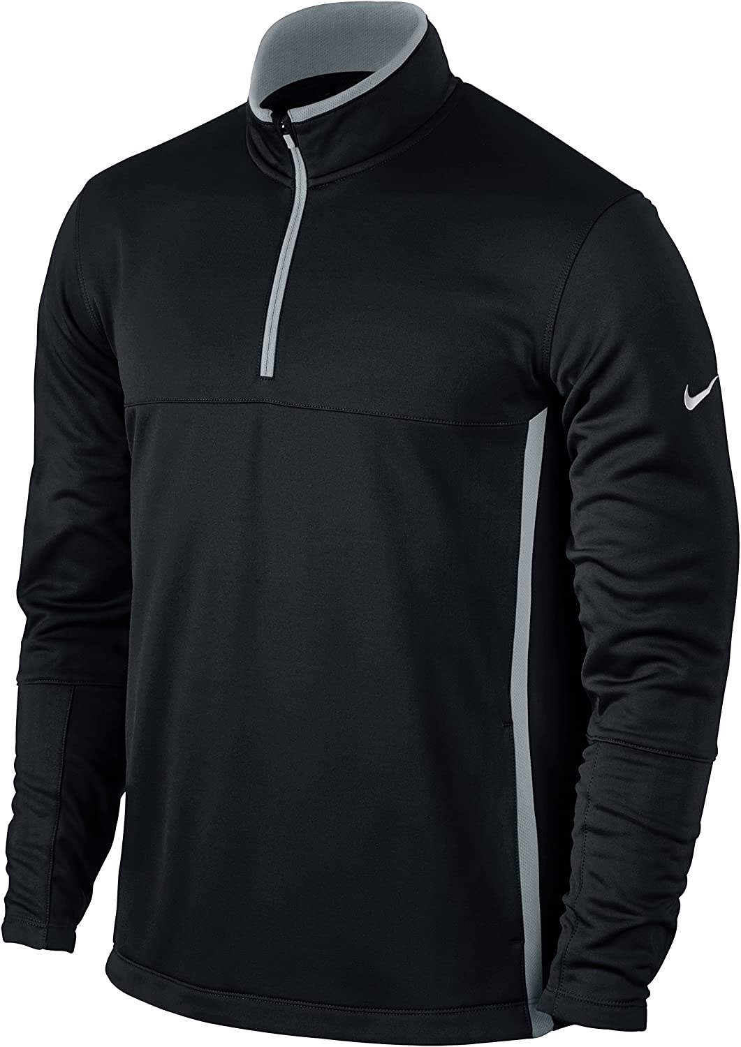 Nike Selling rankings Therma-FIT Colorado Springs Mall Men's Golf Small Cover-Up Black