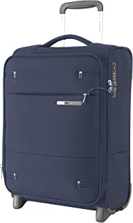 Samsonite 109254 Base Boost 2 Upright Expandable Suitcase, Navy, 50 Centimeters