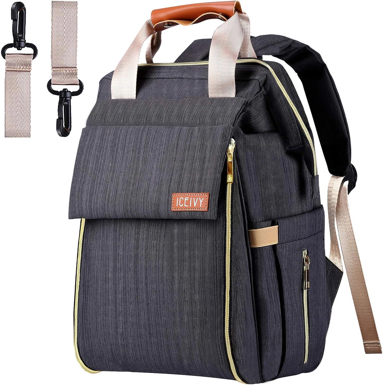 Diaper Bag,Baby Bag Diaper Bag Backpack Baby Diaper Bag Multi-Function Waterproof Large Capacity Stylish and Durable