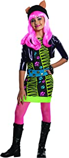 Monster High - Disfraz de Howleen Wolf para niña, infantil 5-7 años (Rubie's 886702-M)