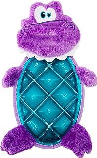 Outward Hound Bubble Palz Plush Dino Dog Toy, Medium