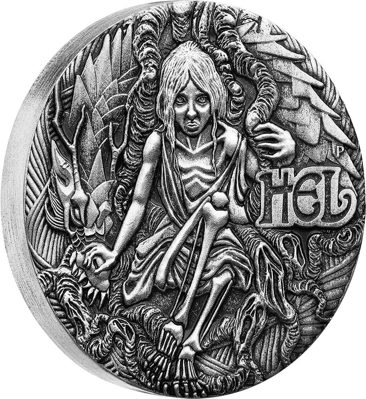 Power Coin HEL Norse Goddesses 2 Oz Silber Münze 2  Tuvalu 2017