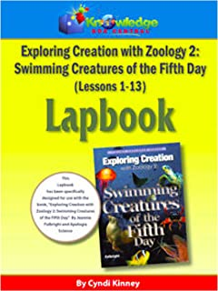 Apologia Exploring Creation with Zoology 2 - Swimming Creatures of the 5th Day - Lessons 1-13 Lapbook Package: Plus FREE Printable Ebook