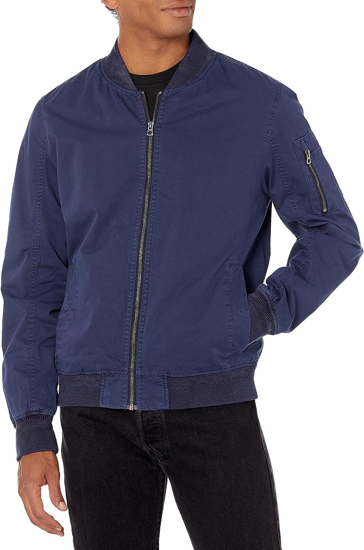 Lucky Brand Men's Bomber Jacket at  Men's Clothing store