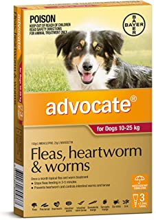 Advocate for Dogs 10-25kg, 3 Pack