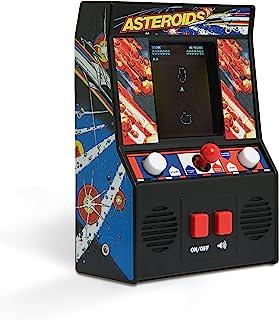 Basic Fun Classics Asteroids Retro Mini Arcade Juego, Color Negro, Talla única (The Bridge Direct 09542)