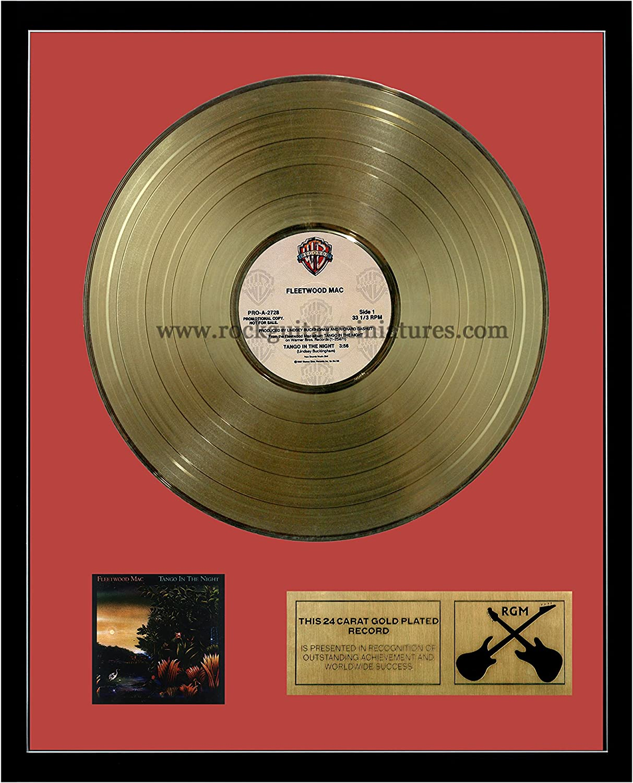 RGM1070 Fleetwood Mac Tango in the Night gold Plated LP 12