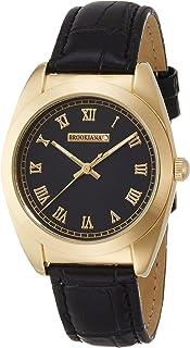 [ブルッキアーナ]BROOKIANA 天然ダイヤモンド ブラック×ブラックレザー BAV006-GBLBK メンズ 腕時計