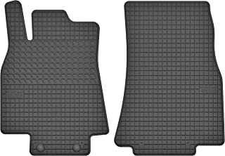 Motohobby Gummimatten Vorne Gummi Fußmatten Satz für Mercedes Benz A Klasse W169 (2004 2012) / B Klasse W245 (2005 2011)
