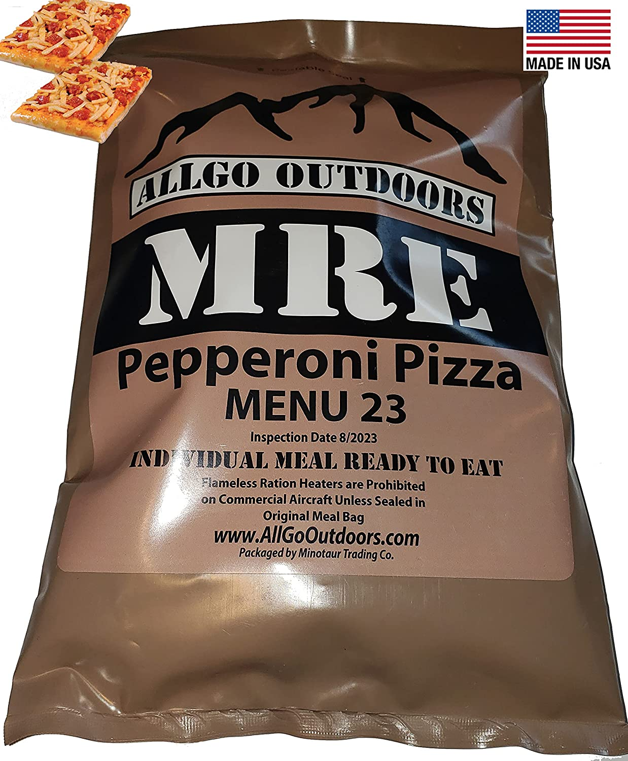Challenge the lowest price of Japan AllGo Outdoors MRE Pizza Meal Pepperoni 23 Challenge the lowest price 2023+ with