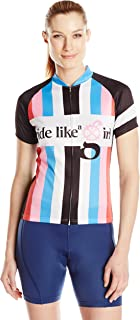 83 Sportswear Women's Biker Chic Rainbow Cycling Jersey
