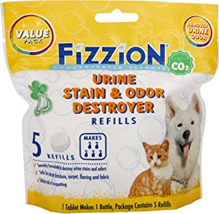 Fizzion Urine Pet Stain and Odor Destroyer (5 Tablets)