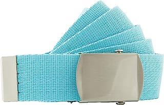 Shenky - Cintura outdoor/militare - larga 4 cm - girovita da 80 a 130 cm