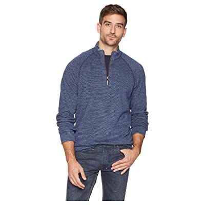 Tommy Bahama On the Double 1/2 Zip (Blue Note) Men