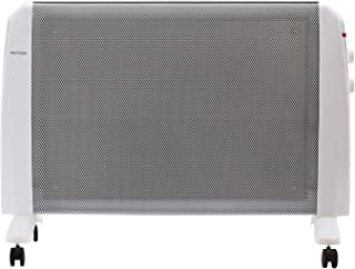 DOIT 34Inch White Convector Panel Heater w/Wheels,Space Heater for Bedroom/Home/Office Electric Wall Heater