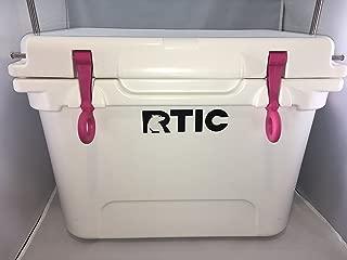 Custom Pink Lid Latches Fits Coolers Like RTIC YETI Tundra T-Rex Roadie
