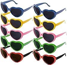 Enfants Filles Coeur Lunettes de soleil Protection UV400 UK