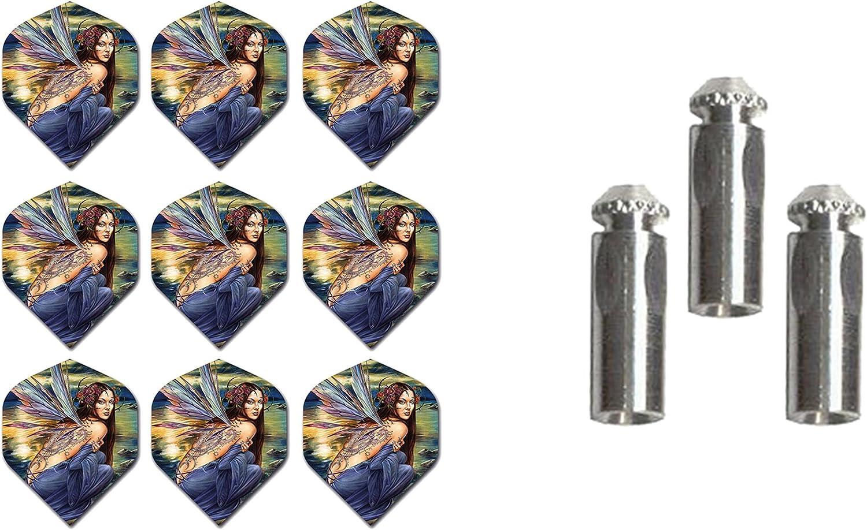 3 Sets of Alchemy Standard Dart 1 Aluminum Flights Manufacturer OFFicial quality assurance shop Plus Set
