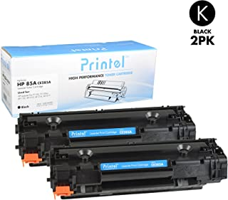 Printel Compatible HP 85A (CE285A) Black Toner Cartridge (2 Pack)