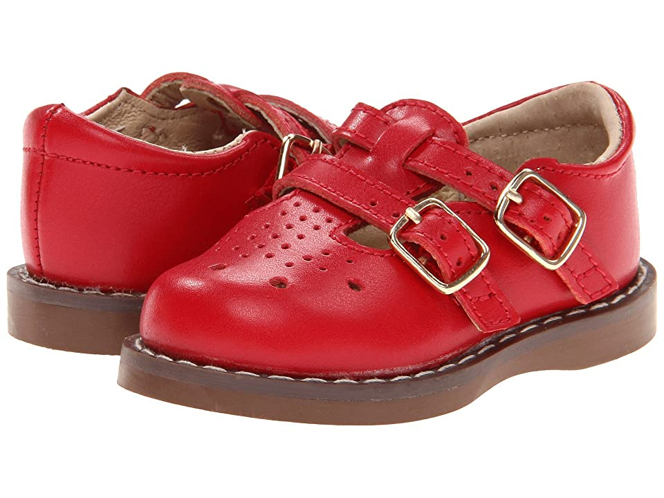 FootMates Danielle 3 (Infant/Toddler/Little Kid) (Apple Red) Girls Shoes