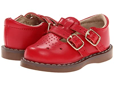 FootMates Danielle 3 (Infant/Toddler/Little Kid) (Apple Red) Girls Shoes