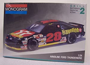 Monogram #2430 #28 Davey Allison Havoline Ford Thunberbird 1/24 sc model kit