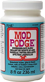 Mod Podge PLCS15059 8 oz Dishwasher Safe Gloss,