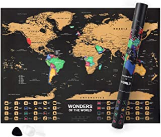 Best world map with states and capitals Reviews