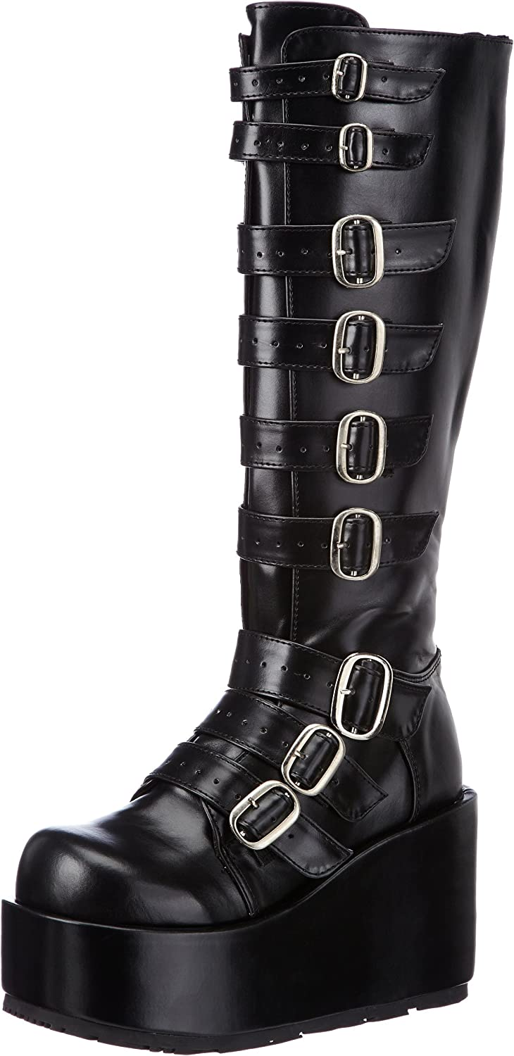 Pleaser Demonia Women's Concord-108 Platform Wedge Boot