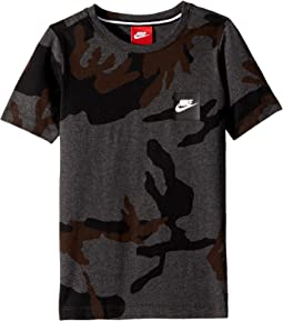 Nike Kids Sportswear Printed T-Shirt (Little Kids/Big Kids)