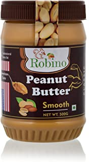 Robino Classic Smooth Peanut Butter (500 Gram)