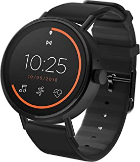 Misfit Vapor 2 Stainless Steel and Silicone Touchscreen Smartwatch Color: Black (MIS7200)