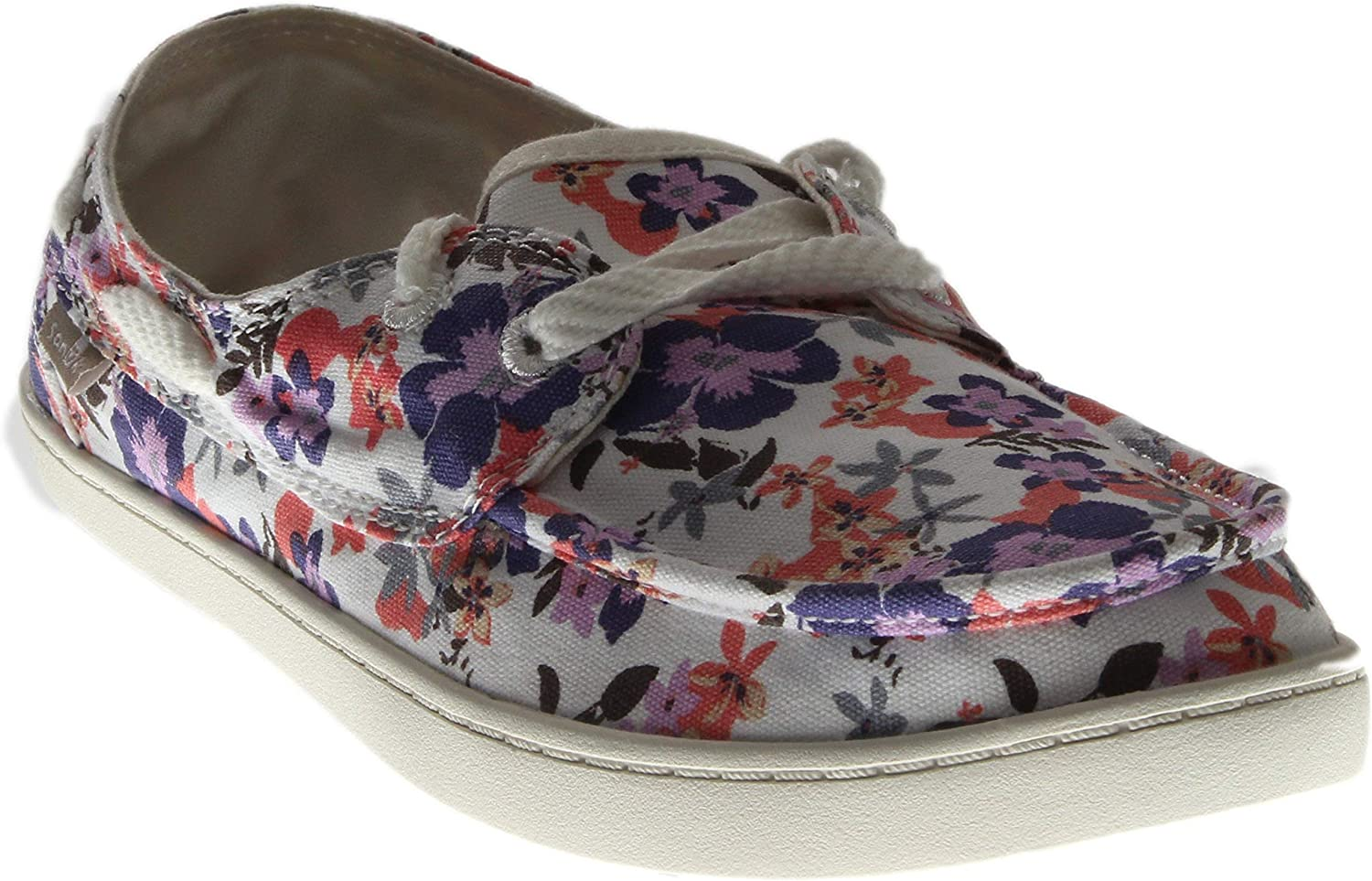 Sanuk Womens Pair O Sail Prints Boat shoes