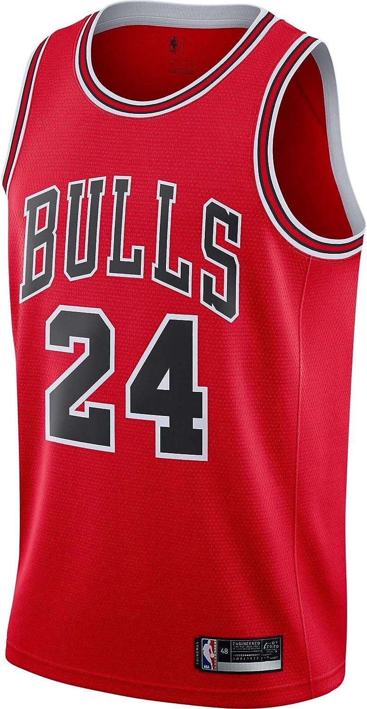 Chicago Bulls #24 Lauri Markkanen NEWCity Edition Swingman Jersey
